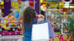 Glamorous Shopping stock footage