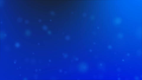 blue particles ambience Animation