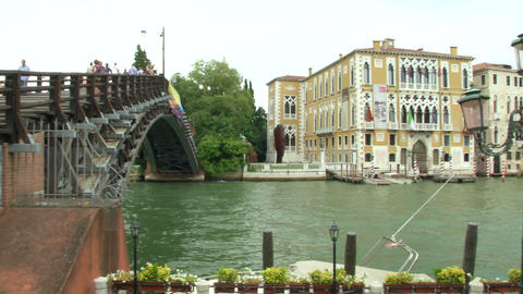 Canal Grande Accademia 02 Footage