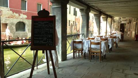 Venice restaurant ビデオ