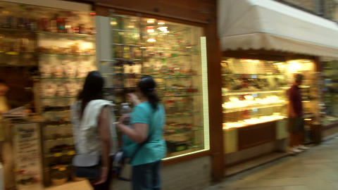 Venice shopping 02 e Footage