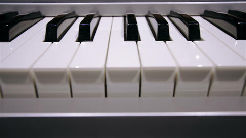 Digital Portable Piano stock footage
