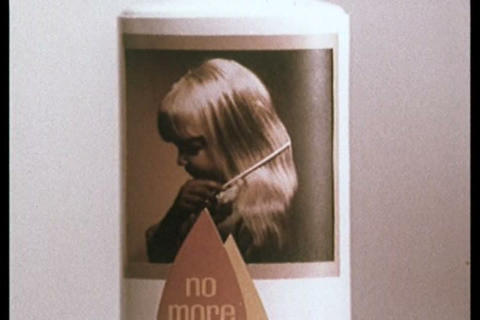 Johnson's Shampoo TV commercial Footage