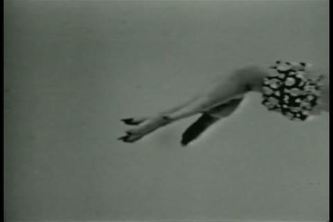 An ad for nylon stockings in the 1960s Footage