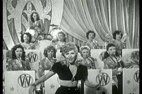 1940s all female jazz orchestra Live Action