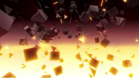 Cube Triangle HD Animation