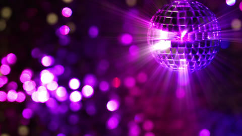 Light Disco. Seamless Loop stock footage