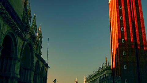 Piazza San Marco, Venice, Italy Footage