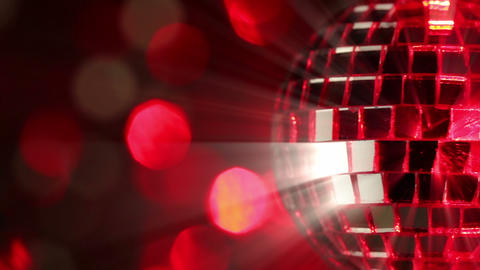 Light Disco Three. Seamless Loop stock footage