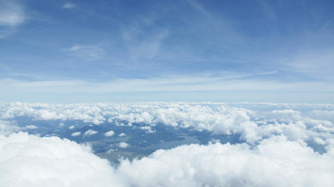 A Sea Of Clouds stock footage