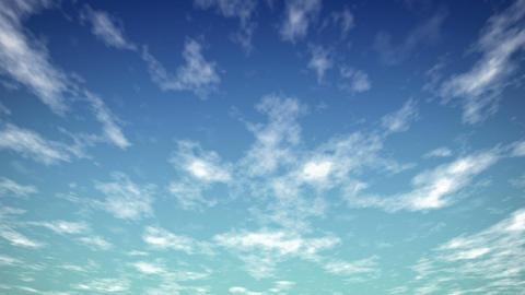 sky 4colors WEB Stock Video Footage