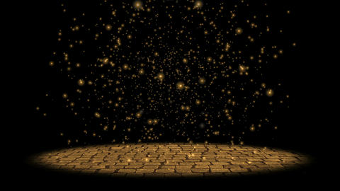 Particles Rain Animation