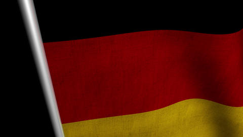 Germany Flag transition LtoR with Alpha/Matte Animation
