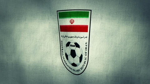 Iran National Football Team Flag (Loopable) Animation