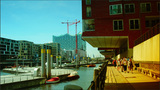New Office And Residence Buildings In Hamburg stock footage