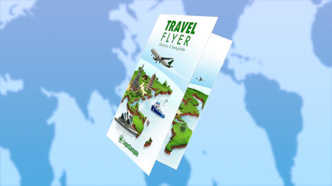 Business Brochure - Travel Flyer Apple Motion Template