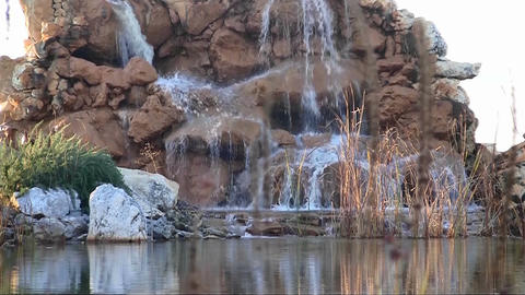 Small waterfall Footage