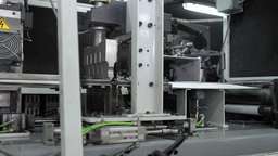 Production machine in motion Footage