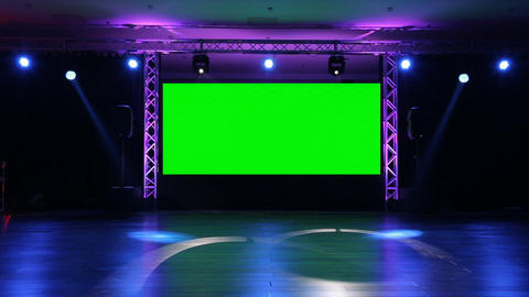 Stage Screen 03 stock footage