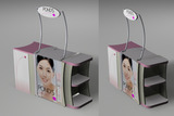ROVING BOOTH DESIGN โมเดล 3D