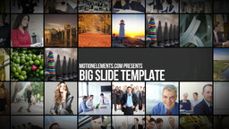 Big Slide Apple Motion Template