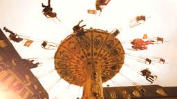 amusement park background Footage