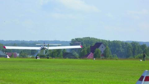 Light aircraft Footage