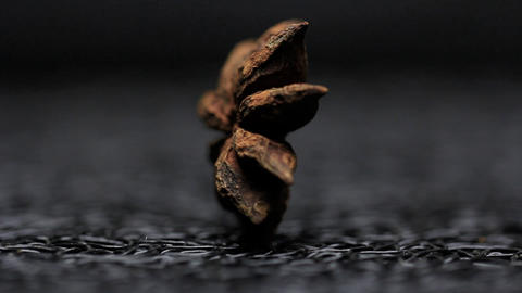 Star Anise spice food styleing Footage