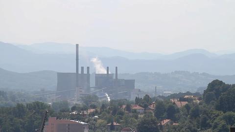 Tuzla fabrika 01 Footage