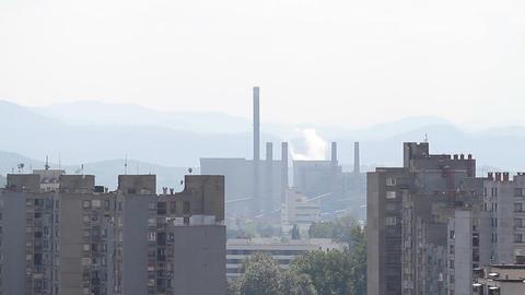 Tuzla fabrika 03 Footage