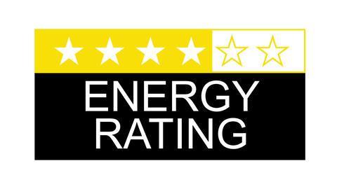 Energy Rating stock footage