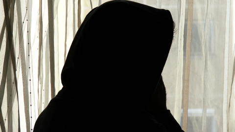 Despaired Hooded Man Silhouette 1 Live Action