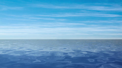 Blue sea Animation