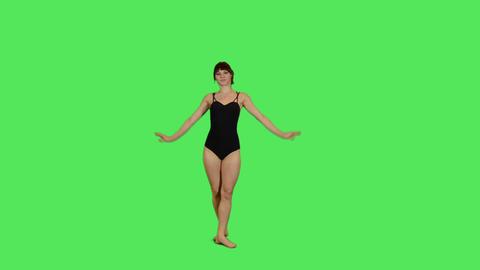 Female Ballet Dancer Footage