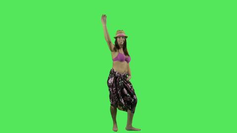 Hawai Hulu dancer Footage