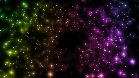 Sparkle Particles SA 2 HD Animation