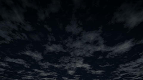loopable sky night HD Animation