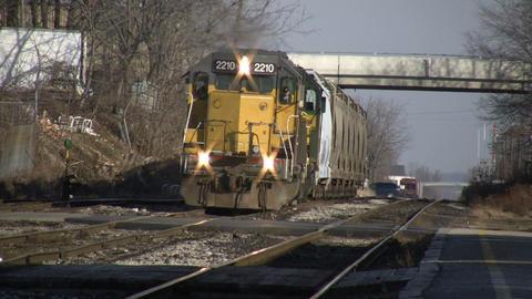 Train 01B (High Definition) Footage