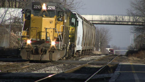 Train 01B (High Definition) Stock Video Footage
