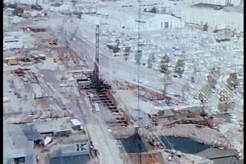 A progress report on the 1967 construction of the  Footage