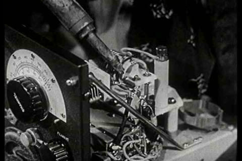 The future of television in 1941 includes lots of  Footage