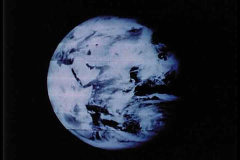 The earth as viewed from space Live Action