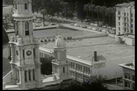 Handheld shots of early Sacramento, California Live Action