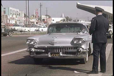 Cars are inspected along the US Mexico border in t Footage