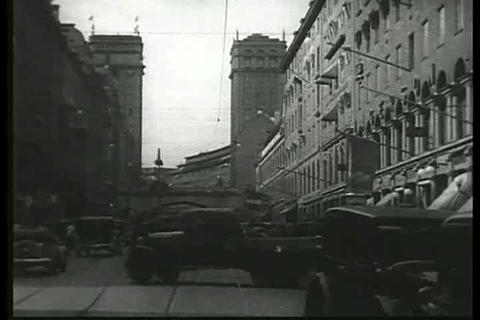 A 1936 travelogue film about Stockholm Sweden Footage