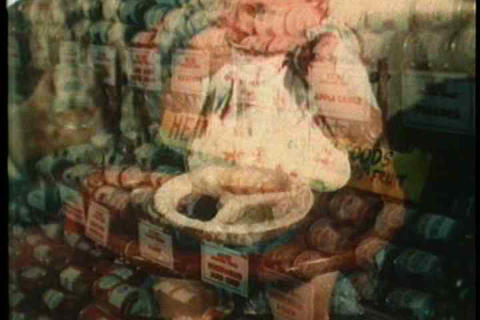 Promotion of various foods from Heinz Company Footage