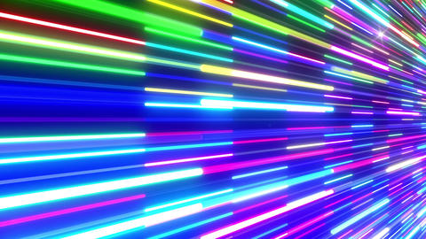 Neon tube W Nbm F S 5 HD Animation