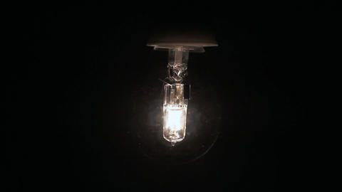 Bulb Fading Electricity Footage