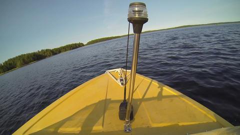 Motorboat driving ビデオ