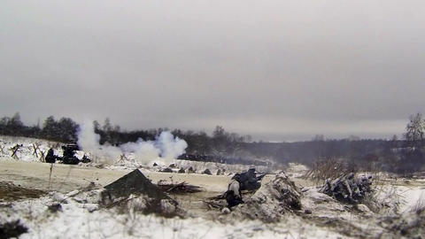 artillery fire Footage
